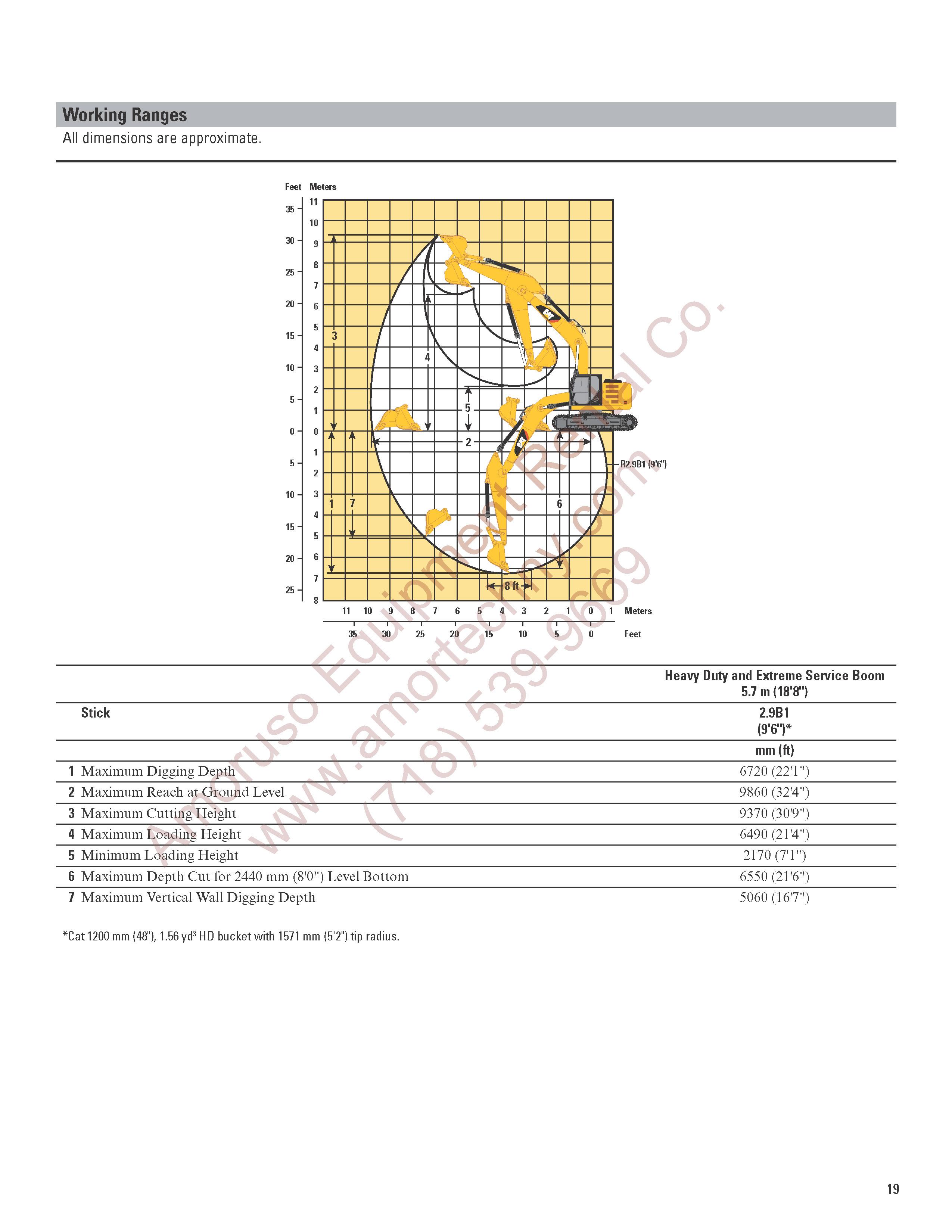 Cat 320elrr Track 164hp 56440lb 3204 Engine Diagram 19