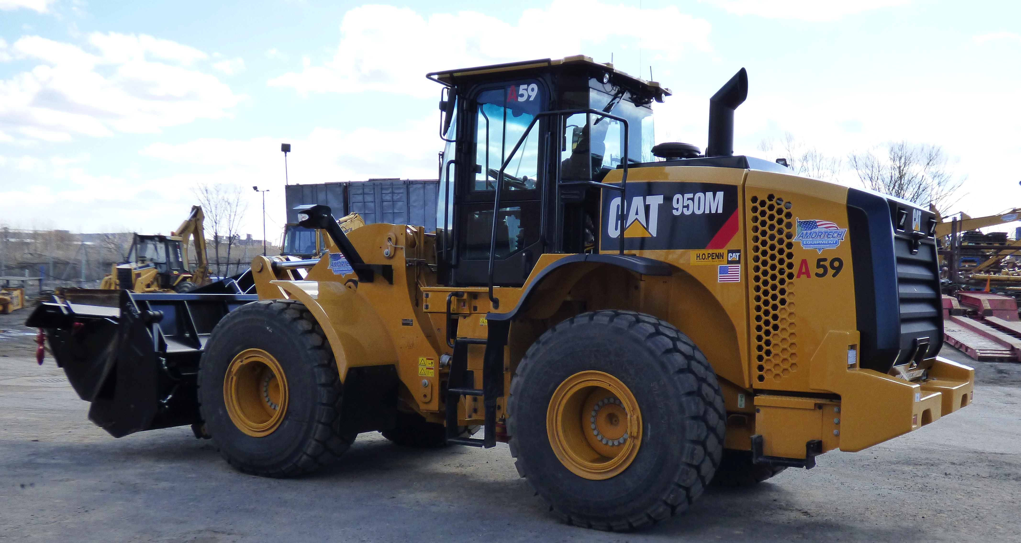 <br>CAT 950M 4WD Tier IV Certified Front End Rubber Tire Payloaders