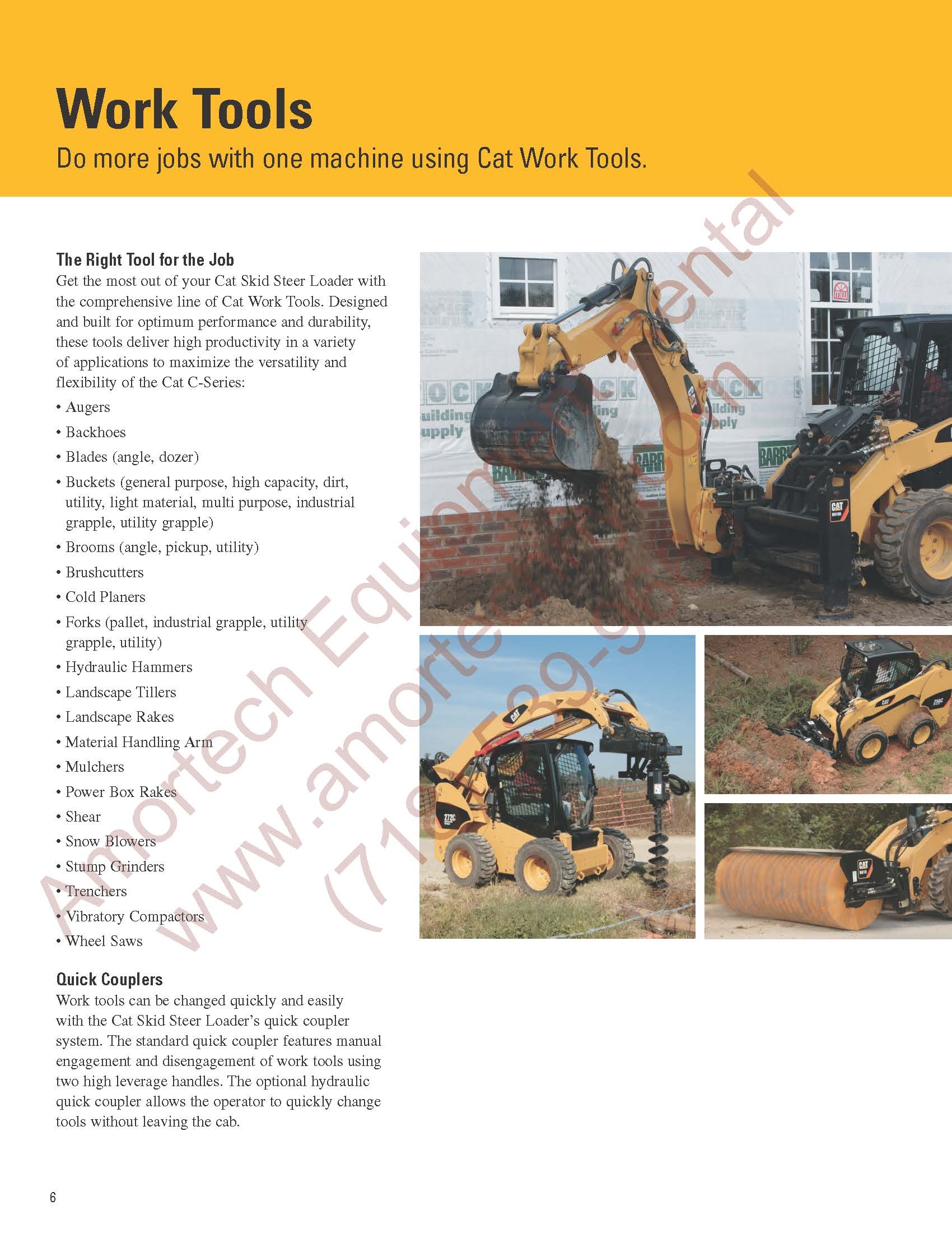 CAT 262C 4WD Skidsteer Loader
